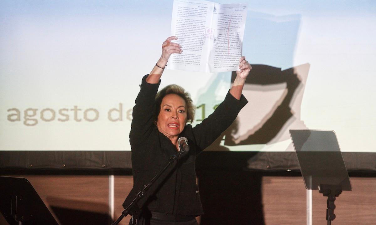 Conspiran contra Elba Esther: audio revela tintes de tráfico de influencia en disputa por partido