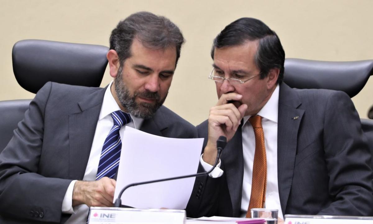 Lorenzo Córdova, Edmundo Jacobo Molina, INE