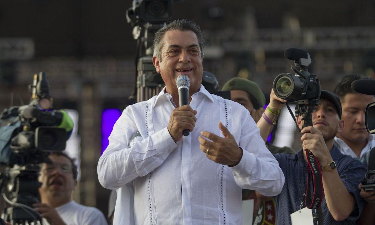 Jaime Rodríguez El Bronco.