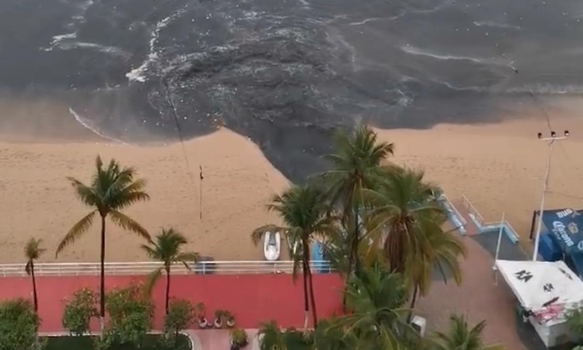 Acapulco: la descarga de aguas negras que despertó la indignación