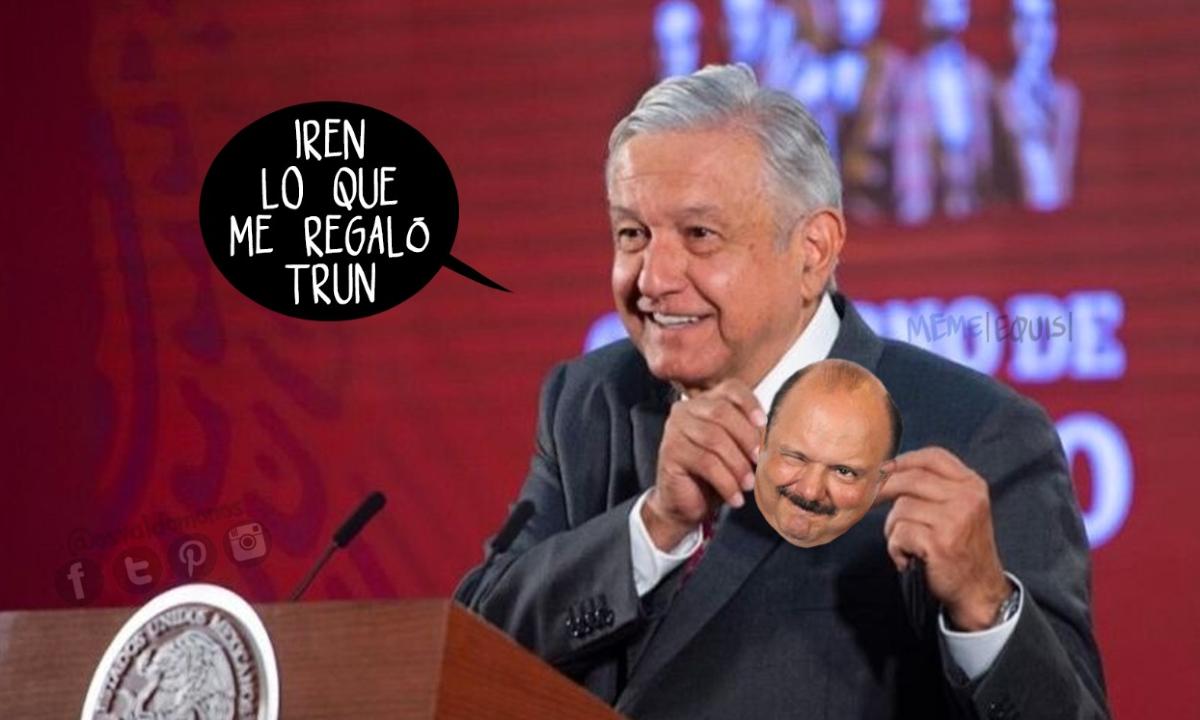 El regalito de Trump a López Obrador y los 11 amigos neoliberales
