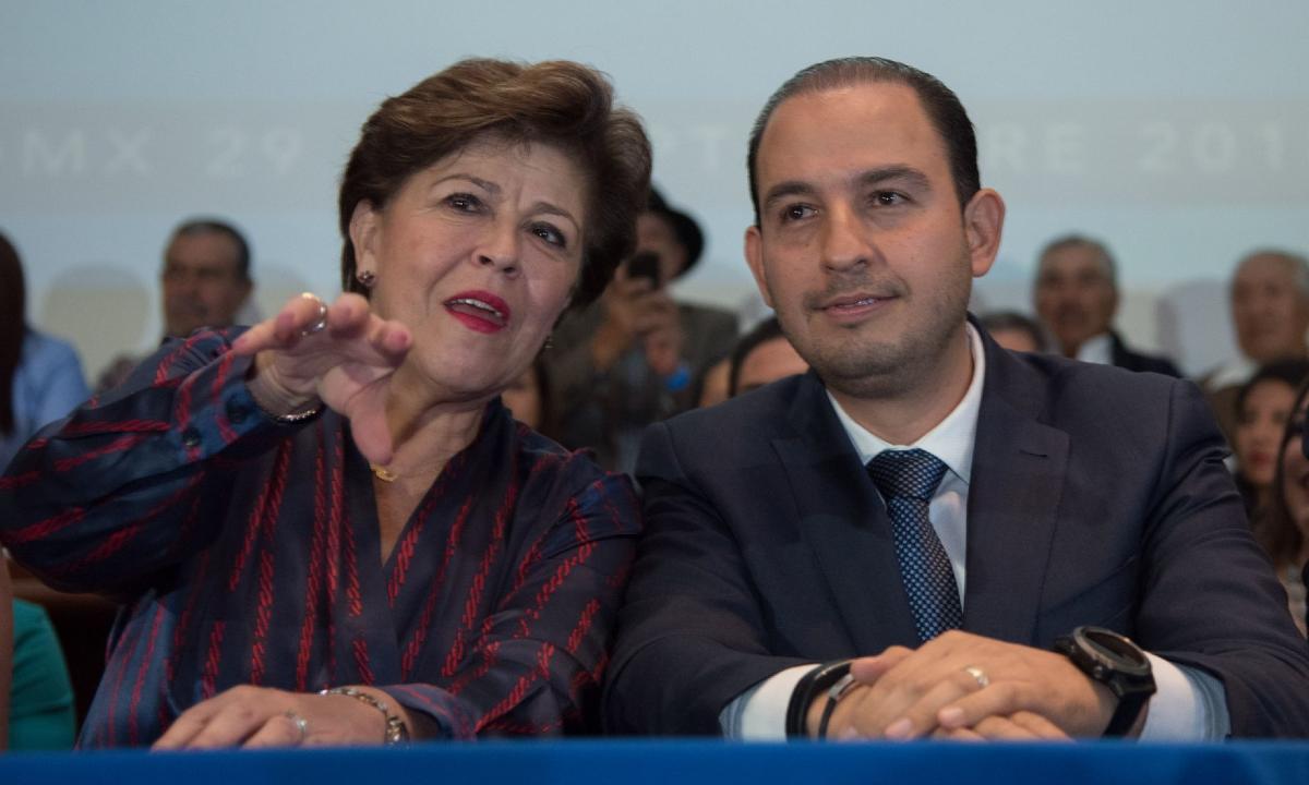La beca azul. Acción Nacional paga un millón de pesos a militante yunquista