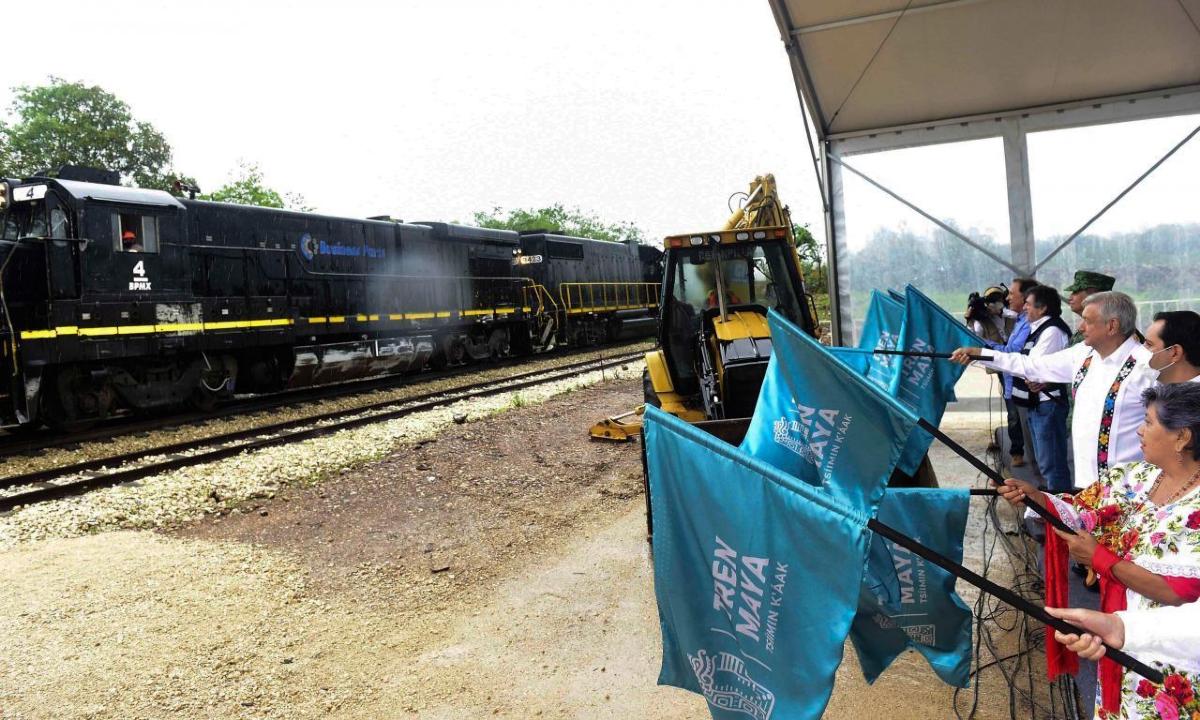 El espejismo del Tren Maya maquilla derrumbe de la industria de la construcción