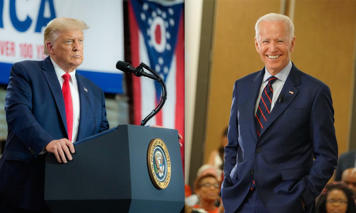 """Trump vs. Biden. La lucha por la """"decencia"""" de Estados Unidos"""