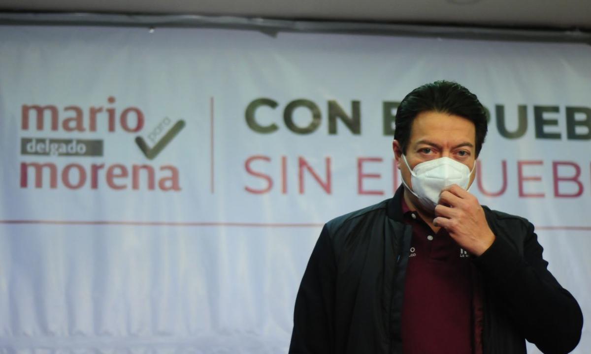 Mario Delgado no tiene cómo transparentar sus gastos