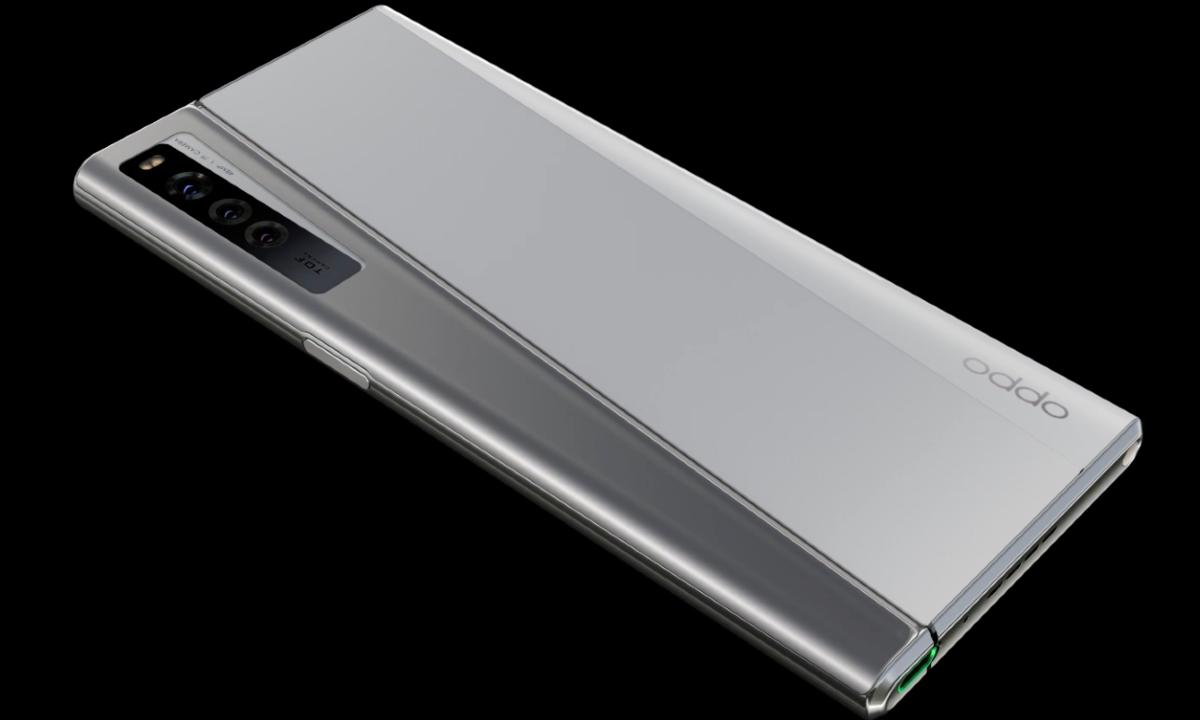 Un smartphone que se enrolla: Oppo presentó su X 2021