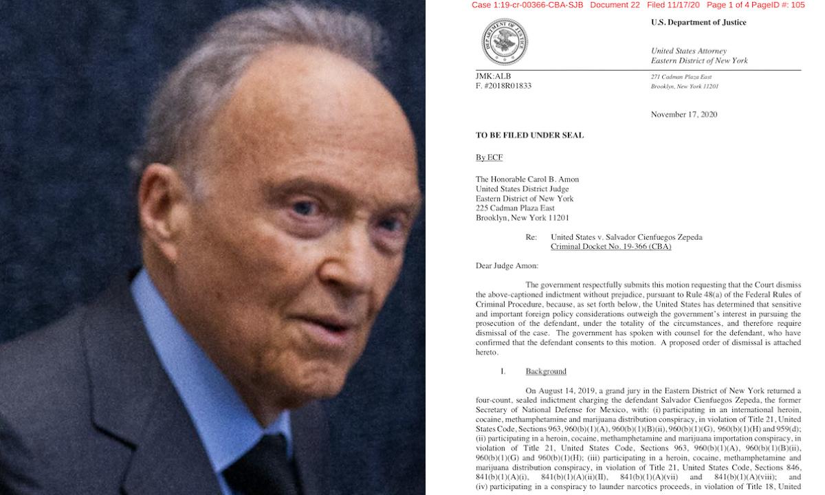 Gertz Manero reparte mentiras y medias verdades sobre el caso Cienfuegos