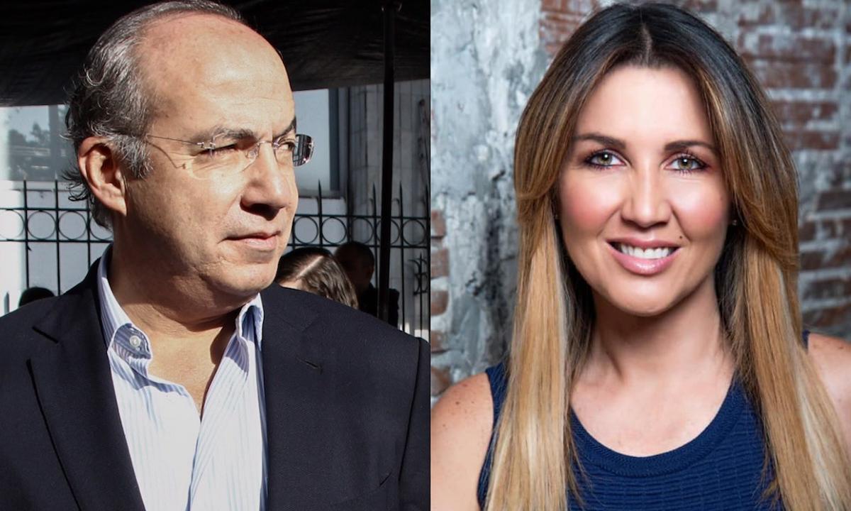 La mano de Felipe Calderón: quiere promover a Desiree Navarro como alcaldesa