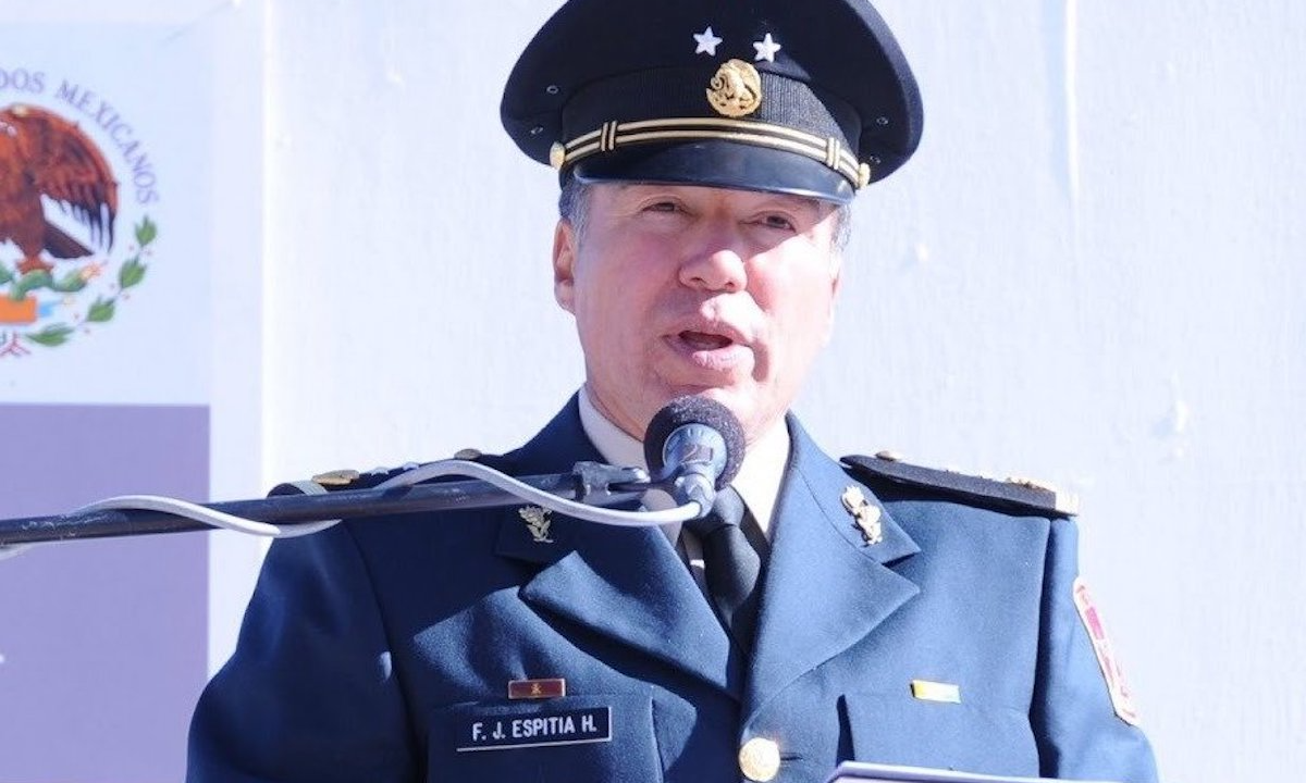 El general Espitia, acusado de tortura.