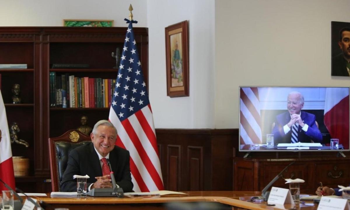 AMLO y Biden: round de estudio y muchas sonrisas. Temas intensos, después