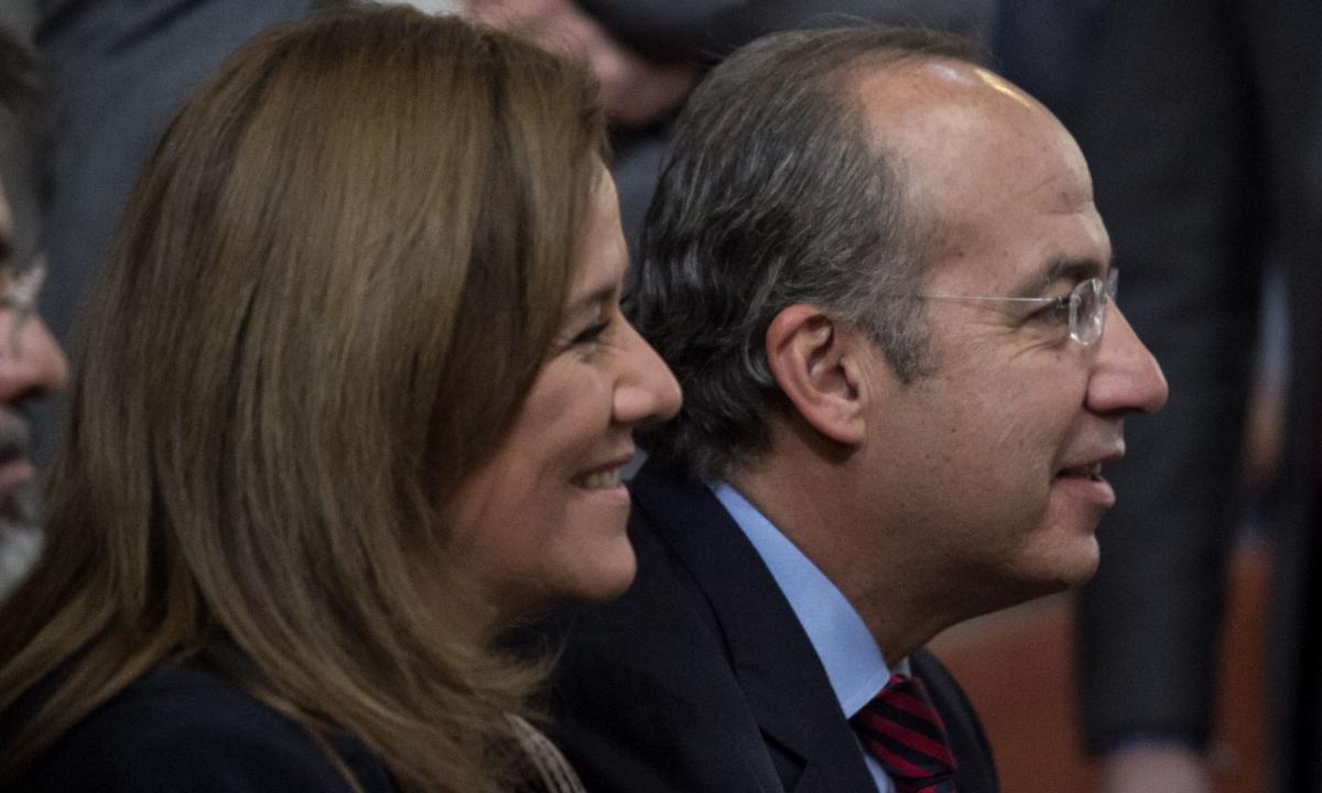 Felipe Calderón ya tiene chamba: supervisa campaña de Margarita y otros