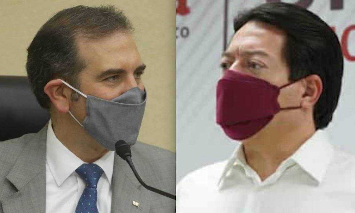 guerra entre INE y Morena.