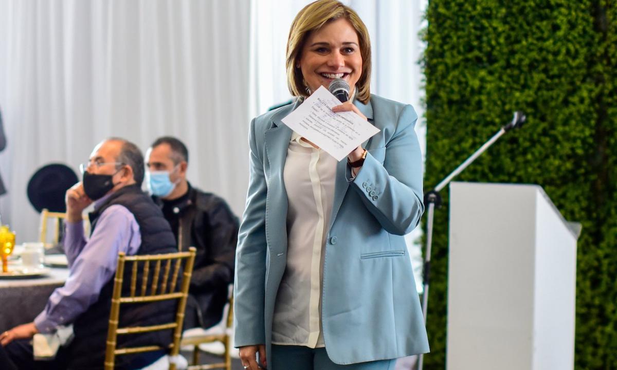 Maru Campos, candidata del PAN-PRD al gobierno de Chihuahua