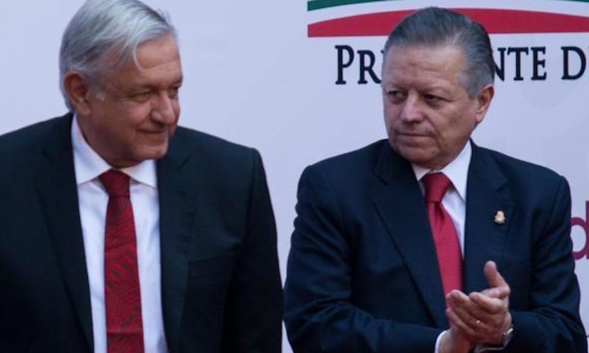 """Amigos de la 4T. Regalazo a Zaldívar se hizo con ayuda de """"opositores"""""""
