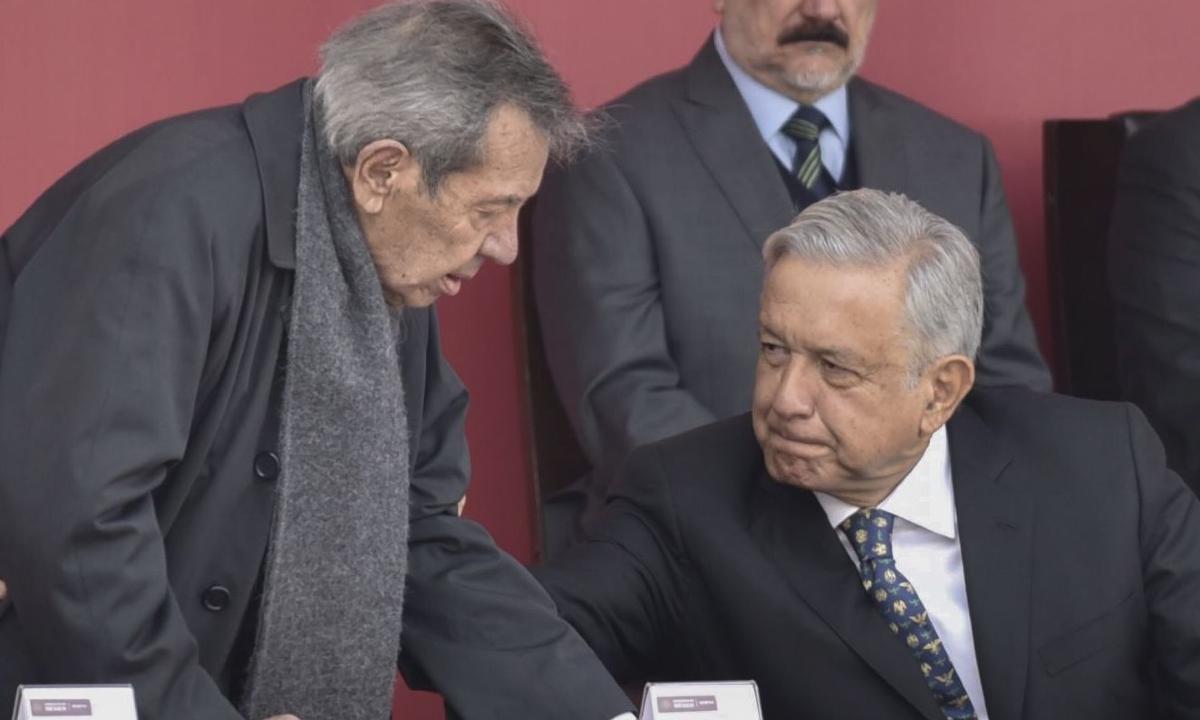 ¿Muñoz Ledo se va a una embajada?