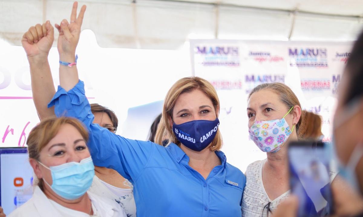 Maru Campos, sus gastos de campaña.