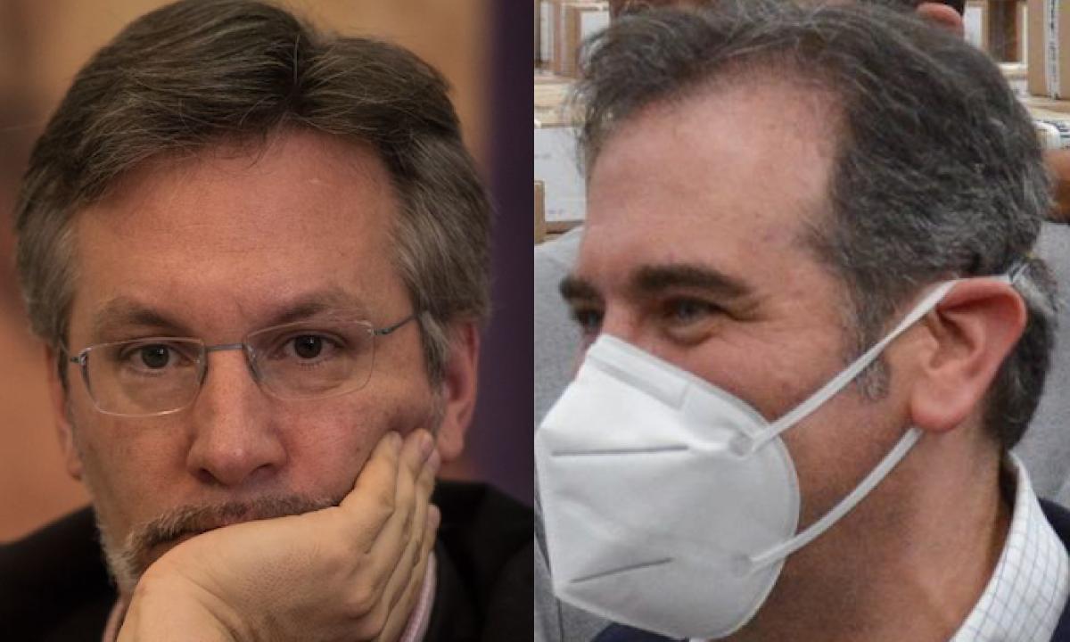 John Ackerman vs Lorenzo Córdova.