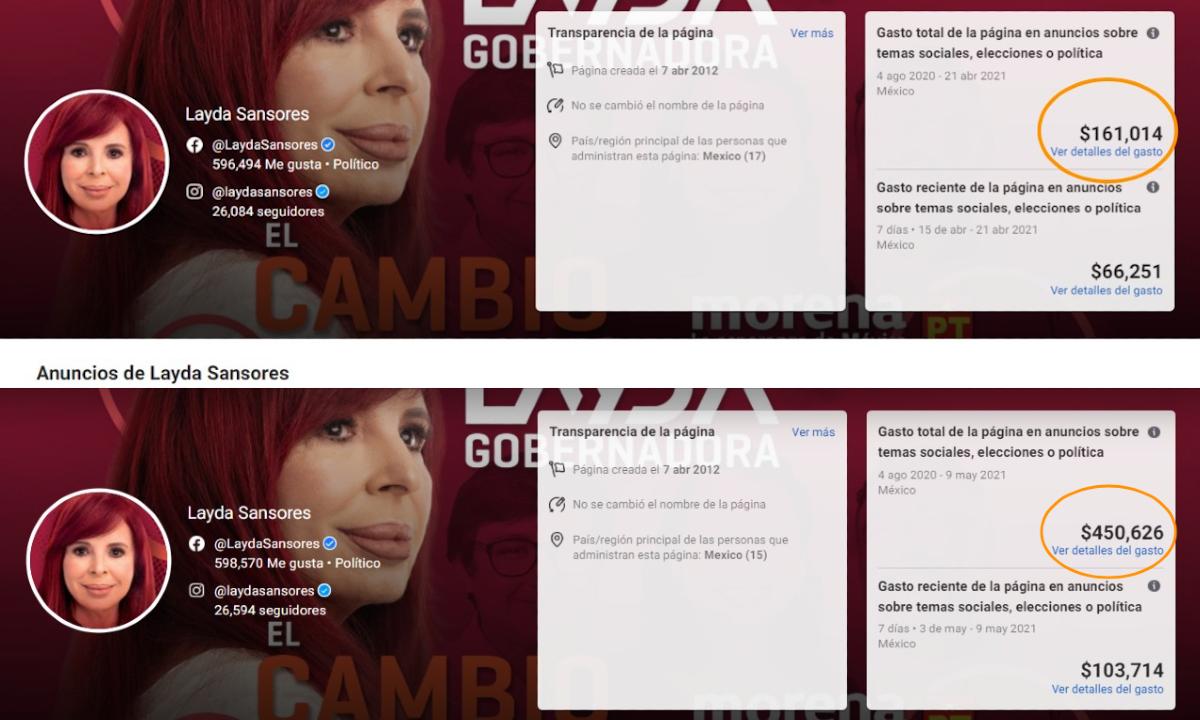 Layda Sansores se aferra a Facebook para salvarse de la debacle