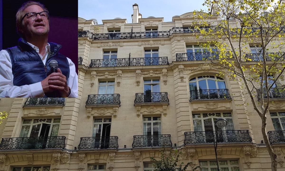 La vida de Andrés Roemer en París.