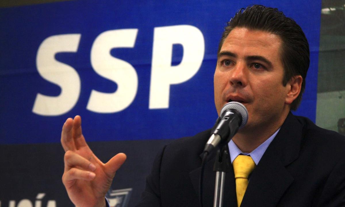 Detención de Luis Cárdenas Palomino.