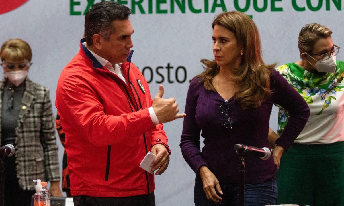 Alito Moreno quiere imponer a Carolina Viggiano.