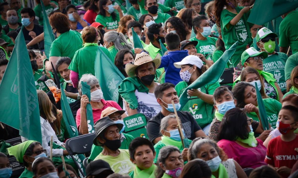 Partido Verde: multas a cambio de diputados.