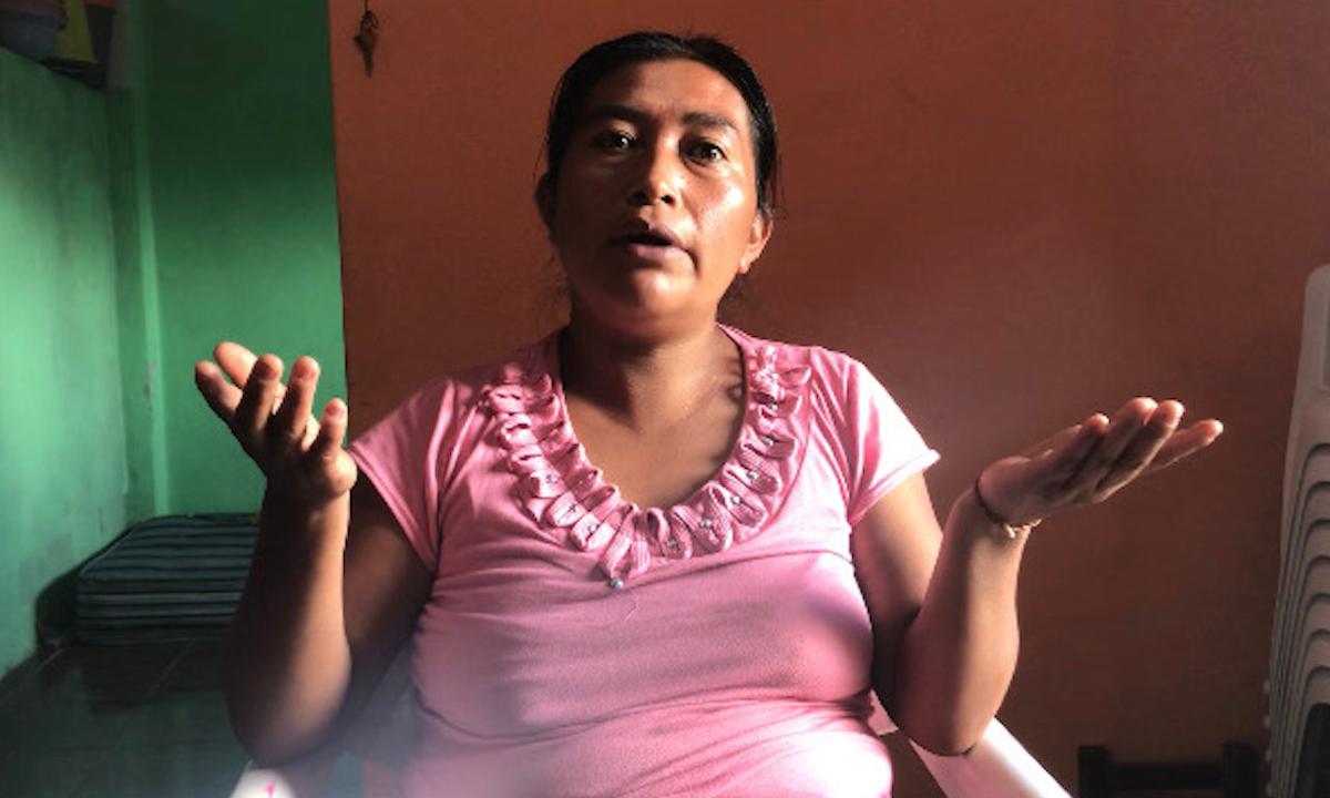 Mujeres jornaleras en México.