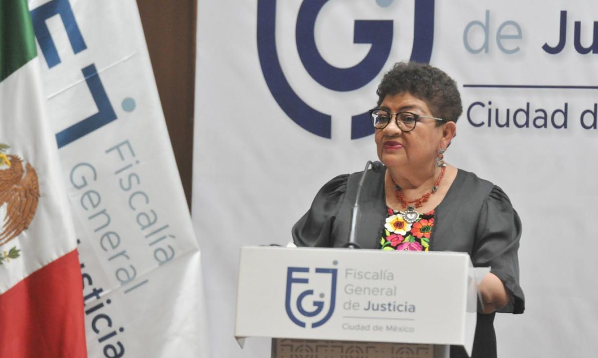 Ernestina Godoy.