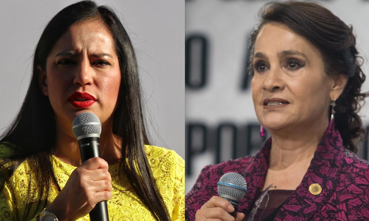 Sandra Cuevas vs Dolores Padierna.