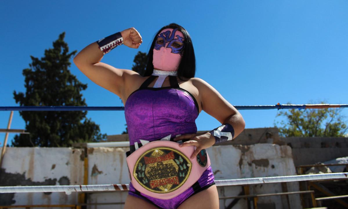 mujeres en la lucha libre
