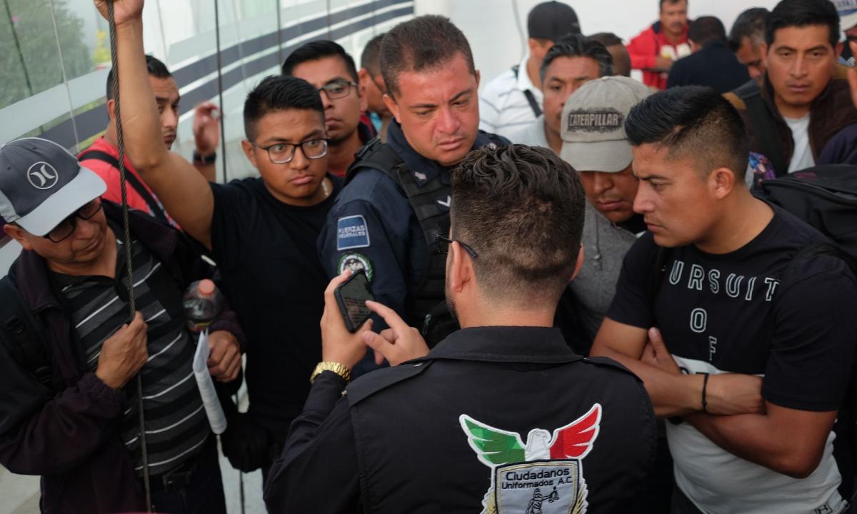 Una revuelta se gesta en la Guardia Nacional: ni contratan ni liquidan a expolicías