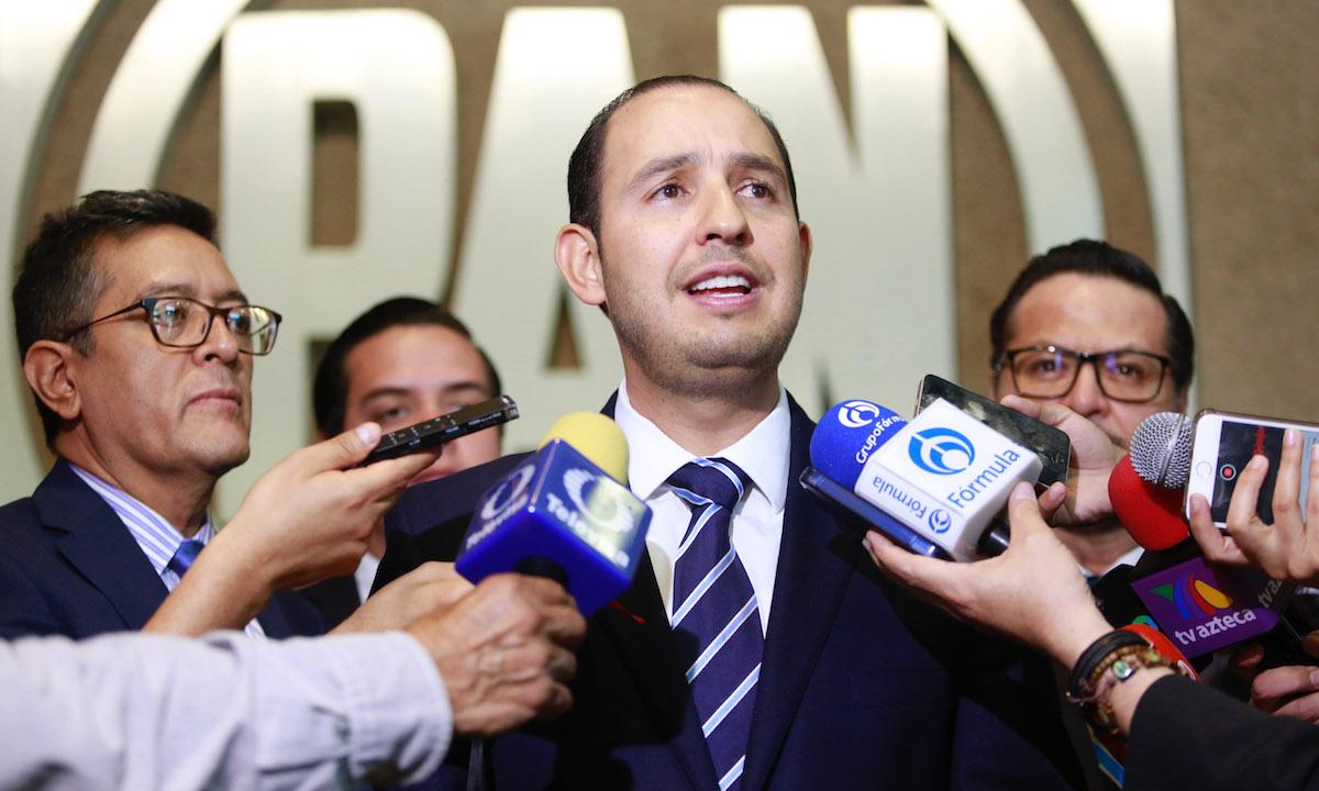 """Alertan que el PAN caería a tercera fuerza; Marko Cortés tendría salida """"digna"""""""